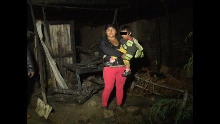 Tarma: Incendio deja un niño fallecido y cuatro personas heridas