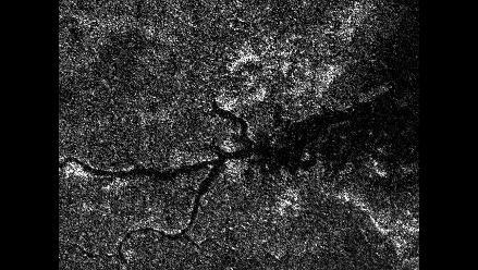 Misión Cassini capta imágenes de un río en la luna de Saturno