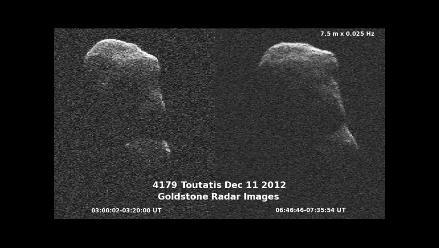 NASA capta imagen detallada de asteroide Tutatis