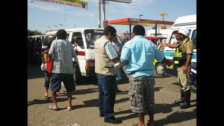 Arequipa: Detienen a conductor de combi por retener a policía
