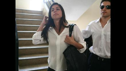 Cuatro años de prisión suspendida para actriz Fiorella Cayo