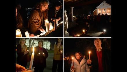 Vigilia en Estados Unidos por las víctimas del tiroteo en Newtown
