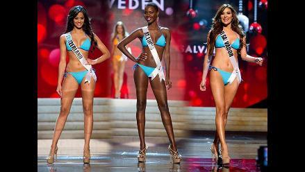 Prendas ligeras: candidatas al Miss Universo desfilan en traje de baño