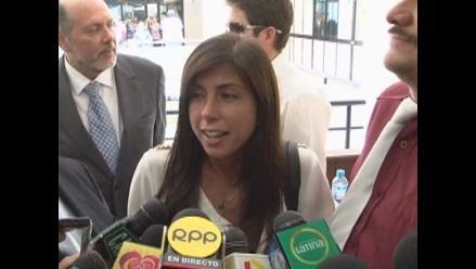 Ministro del Interior pide sancionar con severidad a Fiorella Cayo