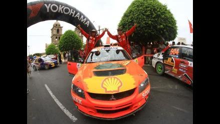 Raúl Orlandini se proclama campeón nacional de rally 2012