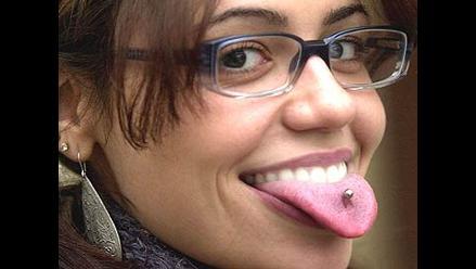 Mucho cuidado con las joyas magnéticas en la lengua