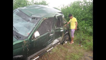 Tacna: Un fallecido y cuatro heridos tras despiste de un auto