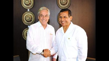 Humala y Piñera concuerdan impulsar Alianza del Pacífico