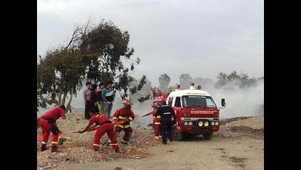 Incendio forestal deja 7 niños asfixiados en Pisco