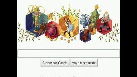 Doodle de Google celebra los 120 años del estreno de Cascanueces