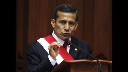 Humala evita comentar polémica carta de Álvaro Vargas Llosa