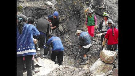 Moquegua: Fuertes lluvias perjudican distritos aledaños a Yunga