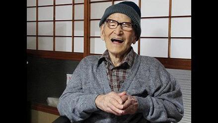 Japonés Jiroemon Kimura es el hombre vivo más viejo del mundo