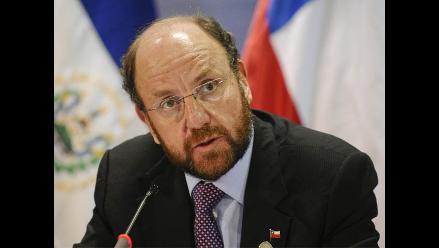 Canciller chileno descarta ceder parte soberana a Bolivia