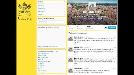 Benedicto XVI en nuevo tuit: Solo Dios nos hará caminar en la luz