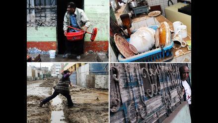 Continúan trabajos de limpieza en Villa María tras inundación
