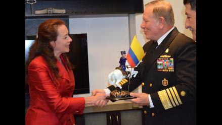Comandante General de la Marina realiza visita oficial a Ecuador