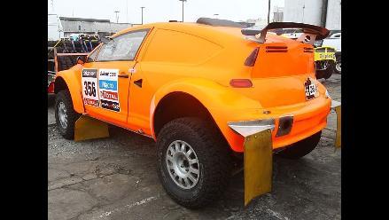 Automóvil de Raúl Orlandini ya se encuentra en Perú para el Dakar 2013