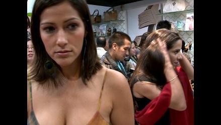 Vanessa Terkes y Pierina Carcelén coinciden en evento pero ni se miran