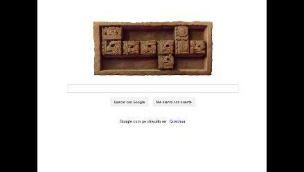 Google recuerda final del 13 backtún del calendario Maya con un doodle