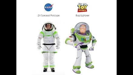 NASA presenta prototipo de traje espacial inspirado en Buzz Lightyear