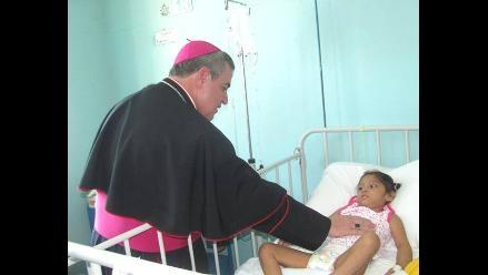 Arzobispo de Piura visitará a niños del hospital Cayetano Heredia