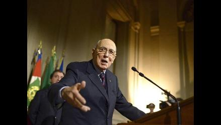 El presidente de la República de Italia disuelve el Parlamento