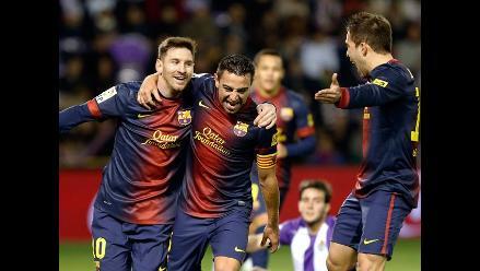 Reviva en imágenes el triunfo del Barcelona sobre Valladolid