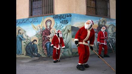 Cristianos y musulmanes se preparan para recibir la Navidad en Palestina
