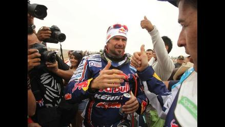 Motociclista Cyril Despres lamentó la ausencia de Marc Coma en el Dakar
