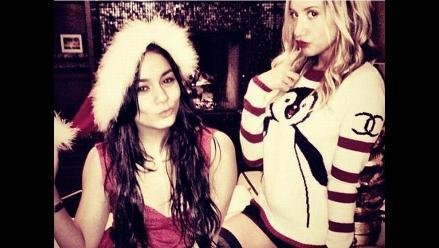 Ashley Tisdale y Vanessa Hudgens: todo listo para recibir Navidad