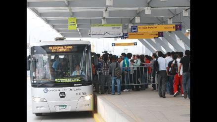 Metropolitano operará en Navidad solo en servicios regulares A, B y C