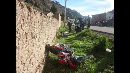 Conductor muere tras despiste y vuelco de moto en la Carretera Central