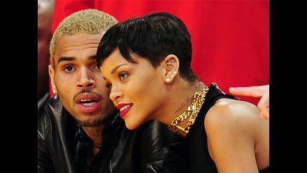 Rihanna y Chris Brown, se muestran por primera vez juntos en público