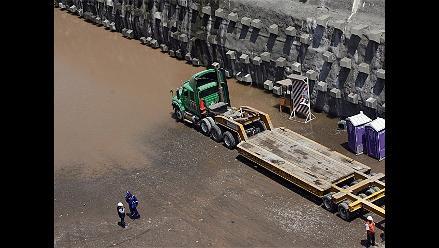Filtraciones en Vía Parque Rímac ´no debe generar preocupación´, afirman