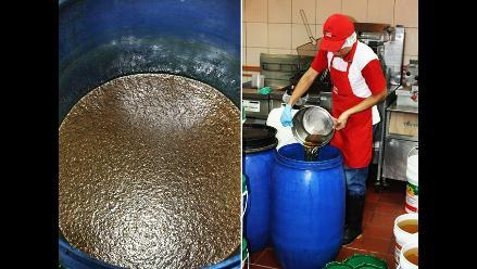 Multan cadena de comida rápida por usar aceite refrito