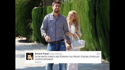 Prensa extranjera comenta el posible nacimiento del hijo de Piqué y Shakira