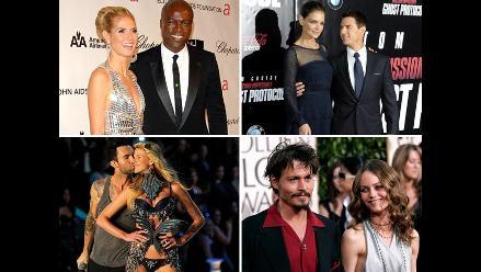 Divorcios que conmocionaron Hollywood en 2012