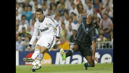 Cristiano Ronaldo figura entre los máximos goleadores en actividad