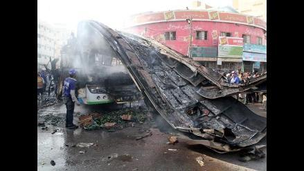 Seis muertos y 48 heridos por explosión en un autobús en Pakistán