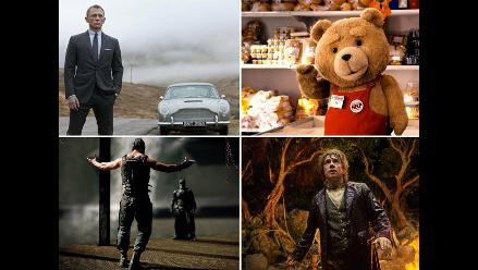 Conozca cuáles son las películas más taquilleras del 2012