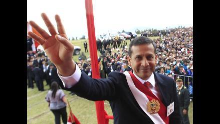 Humala: Crecimiento económico no lo hicieron cuatro o cinco grupos