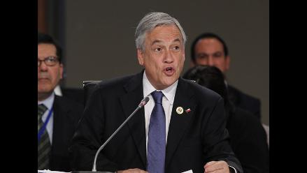 Sebastián Piñera: Nos hemos comprometido a respetar fallo de La Haya