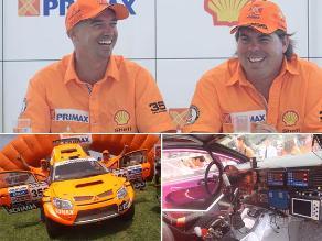 Raúl Orlandini presentó su auto de competencia para el Rally Dakar