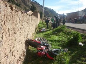 Periodista muere tras chocar moto contra poste en la Panamericana Sur