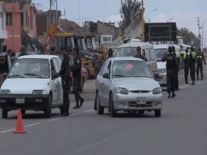 Ayacucho: Policía intervino a 143 conductores ebrios en el 2012
