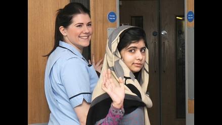 Niña paquistaní agredida por talibanes sale del hospital en Inglaterra