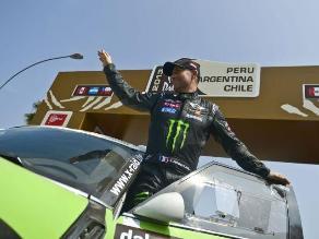 FOTOS: Las figuras mundiales del Rally Dakar desfilaron por Lima