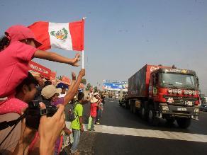 Lo que no vio durante la segunda etapa del Rally Dakar 2013 en Pisco