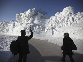China sufre su invierno más frío en 28 años